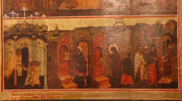 иконы из иконостаса Крыпецкого монастыря