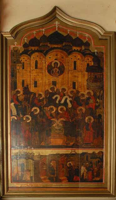 старинная икона из иконостаса Крыпецкого монастыря
