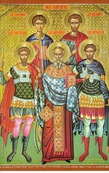 Икона пяточисленных мучеников.