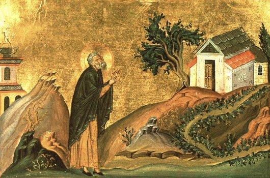 Преподобный Исидор Пелусиотский