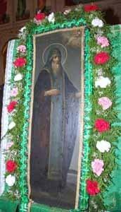 икона преподобного Саввы Крыпецкого